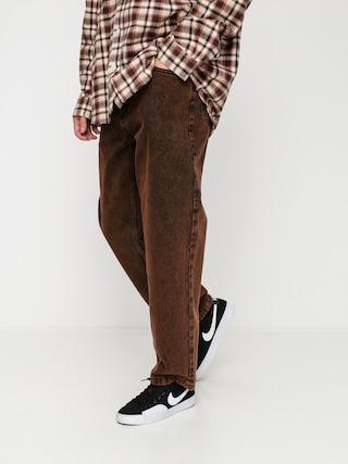 Kalhoty Polar Skate 93 Denim (orange black)