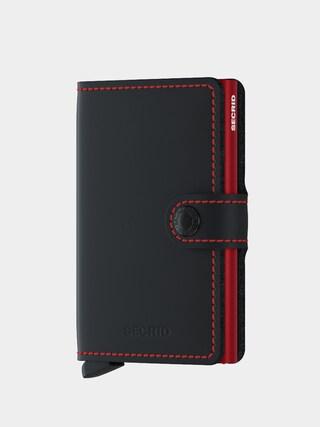 Peněženka Secrid Miniwallet (matte black & red)