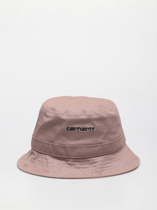 Klobouk Carhartt WIP Script (earthy pink/black)