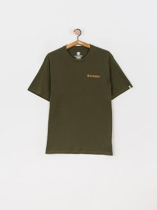 Tričko Element Blazin Chest (army)