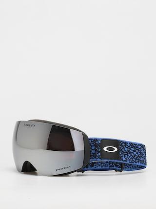 Brýle na snowboard Oakley Flight Deck M (primary blue crackle/prizm snow black)