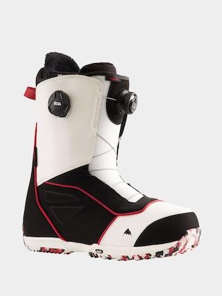 Boty na snowboard Burton Ruler Boa (white/black/red)