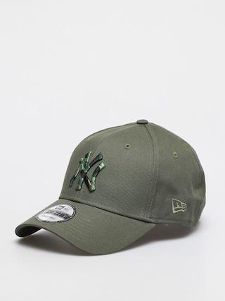 Kšiltovka  New Era Camo Infill 9Forty New York Yankees (green med)