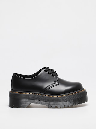 Boty Dr. Martens 1461 Quad Wmn (polished smooth black)