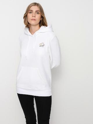 Mikina s kapucí Champion Sweatshirt HD 114694 Wmn (wht)