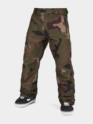 Snowboardové kalhoty  Volcom L Gore Tex (dark camo)