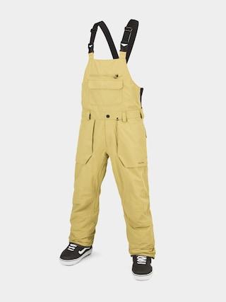 Snowboardové kalhoty  Volcom Roan Bib Overall (gold)