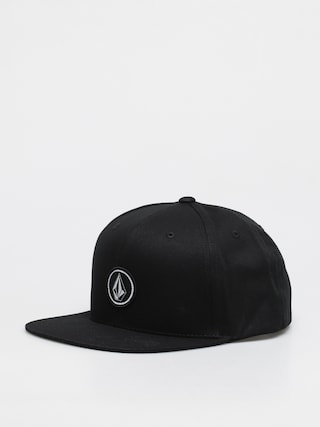Kšiltovka  Volcom Quarter Twill (black)