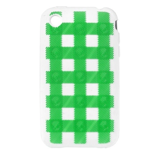 Pouzdro na iPhone Skullcandy Soft Sleeve (plaid lime)
