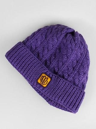 Malita čepice Plait (violet)