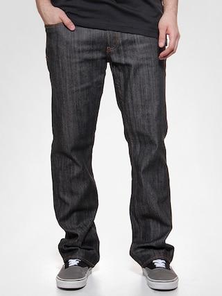 Kalhoty Circa Classic Stretch (black dry rinse)