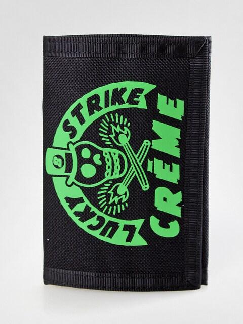 Peněženka Creme 01 (black/green)