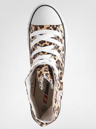 Tenisky Smith's Vysoké (leopard)