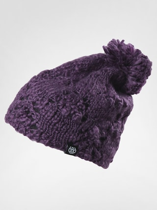 Čepice 686 Plush Fleece Wmn (plum)