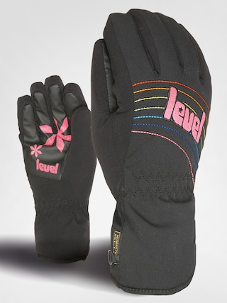Level Rukavice snowboardowe Alpine Girl Junior (blk)
