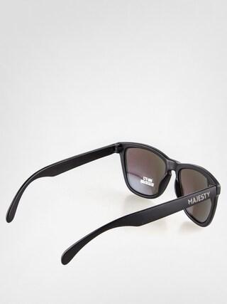 Sluneční brýle Majesty Shades (matt black/green mirror lens)