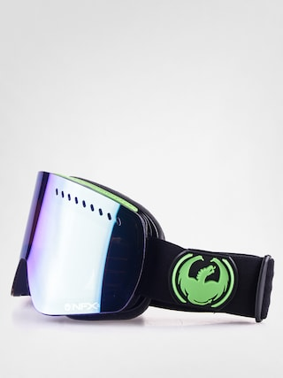 Brýle na snowboard Dragon NFXS (jet/green ion+yellow blue ion)