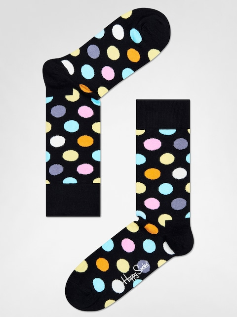 Ponožky Happy Socks Big Dot (black/multi)