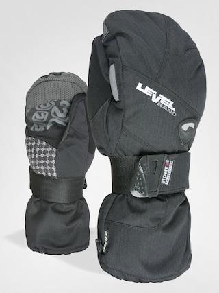 Rukavice Level Half Pipe Mitt Gore Tex (black)