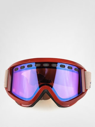 Brýle na snowboard Airblaster Tasty (burgundy/rose blue chrome)