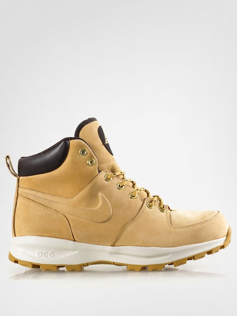 Boty Nike Manoa Leather (haystack/haystack velvet brown)