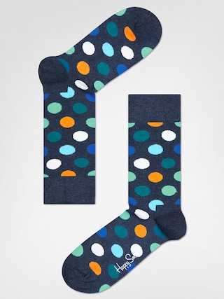Ponou017eky Happy Socks Big Dot (washed navy/multi)