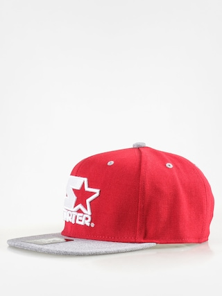 Kšiltovka  Starter Icon 3 Tone Sb ZD (red/grey heather)