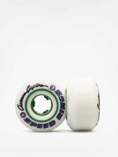 Kolečka Ricta Curren Caples Speedrings (white/green)