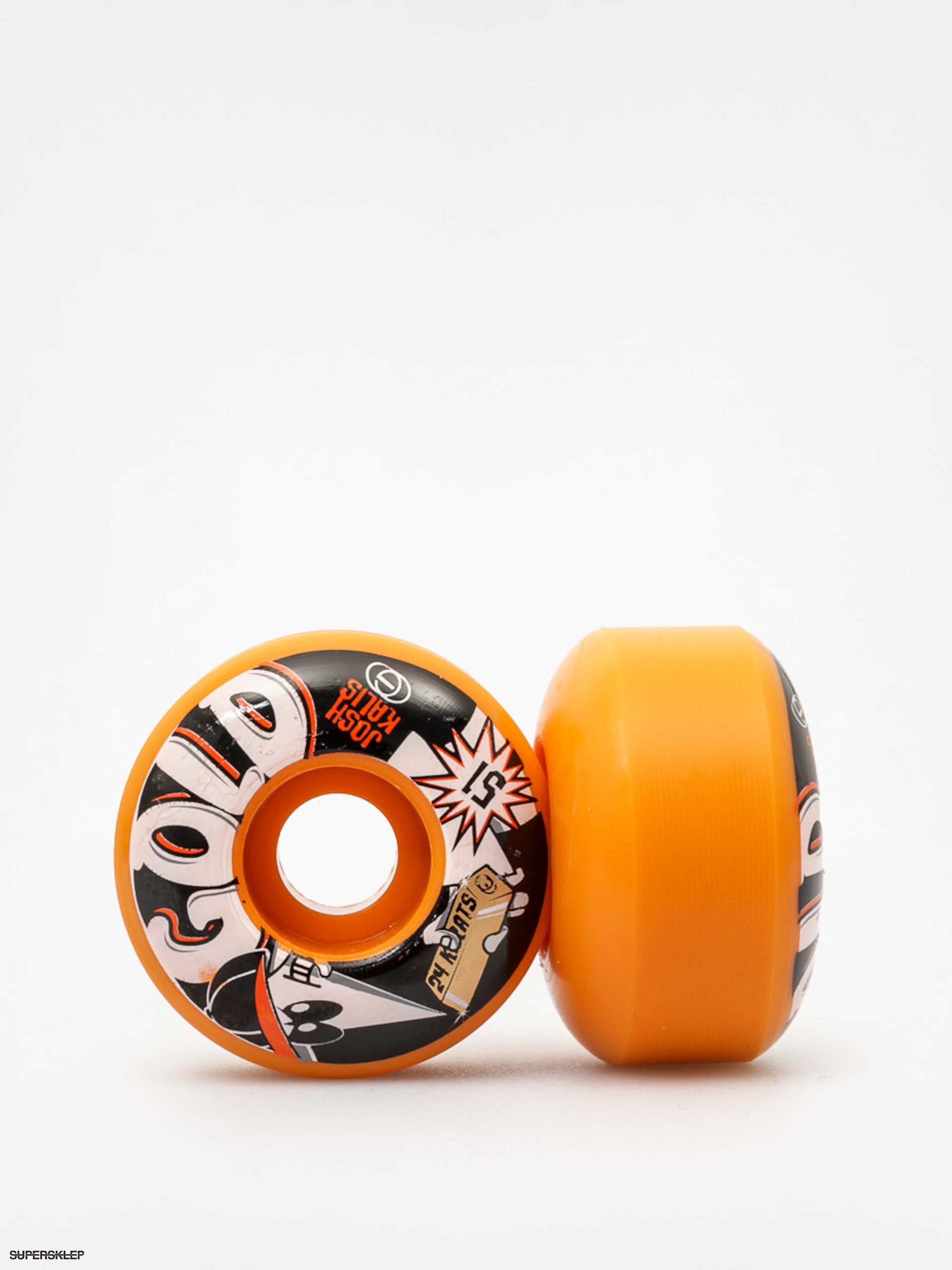 Kolečka Gold Wheels 24 Karats Kalis (orange/black)
