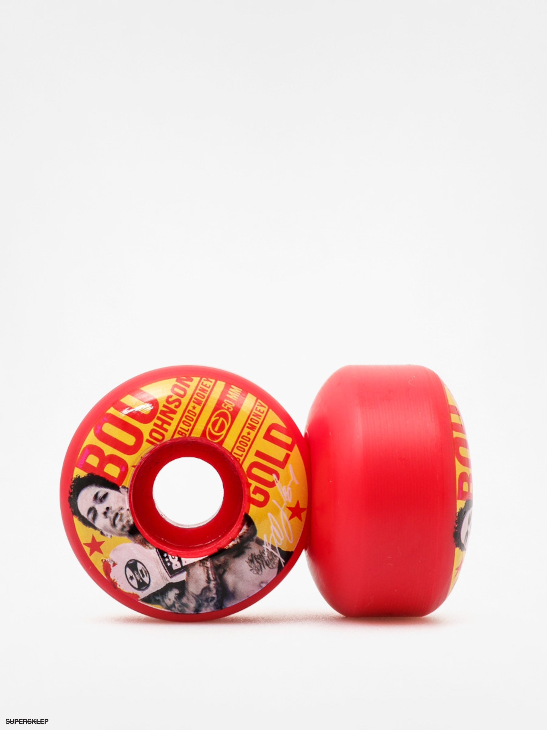 Kolečka Gold Wheels Fight Johnson (red/yellow)