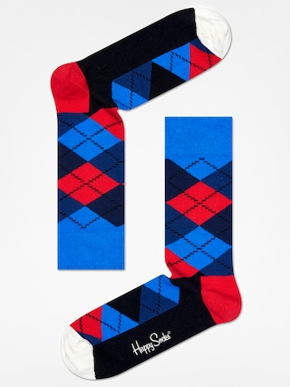 Ponožky Happy Socks Argyle (blue/navy/red/black/white)