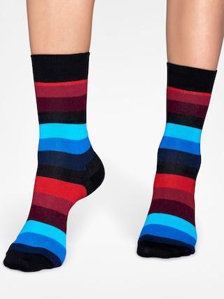Ponožky Happy Socks Stripe (black/red/blue)