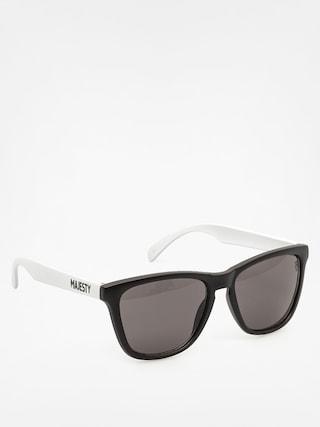 Sluneční brýle Majesty Shades M (black/white black lenses)