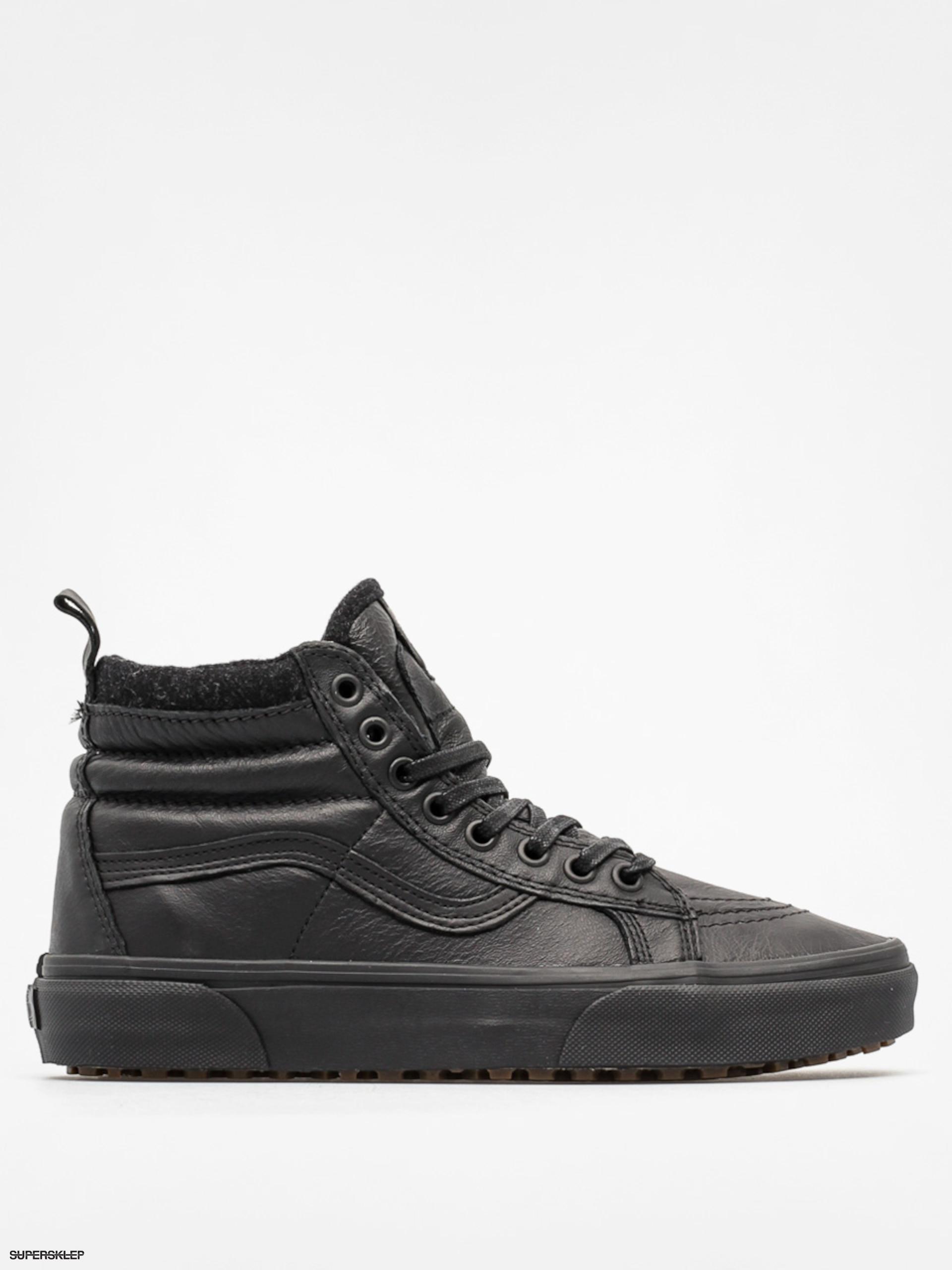Boty Vans Sk8 Hi Mte (mte black leather) 7ffd668f28