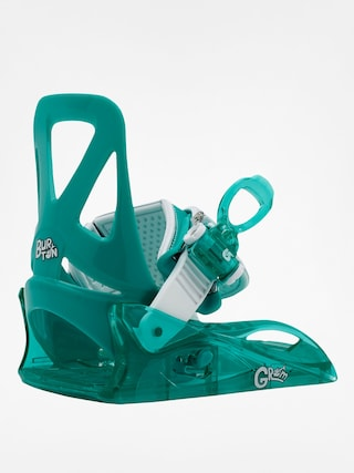 Snowboardové vázání Burton Grom (sea glass green)