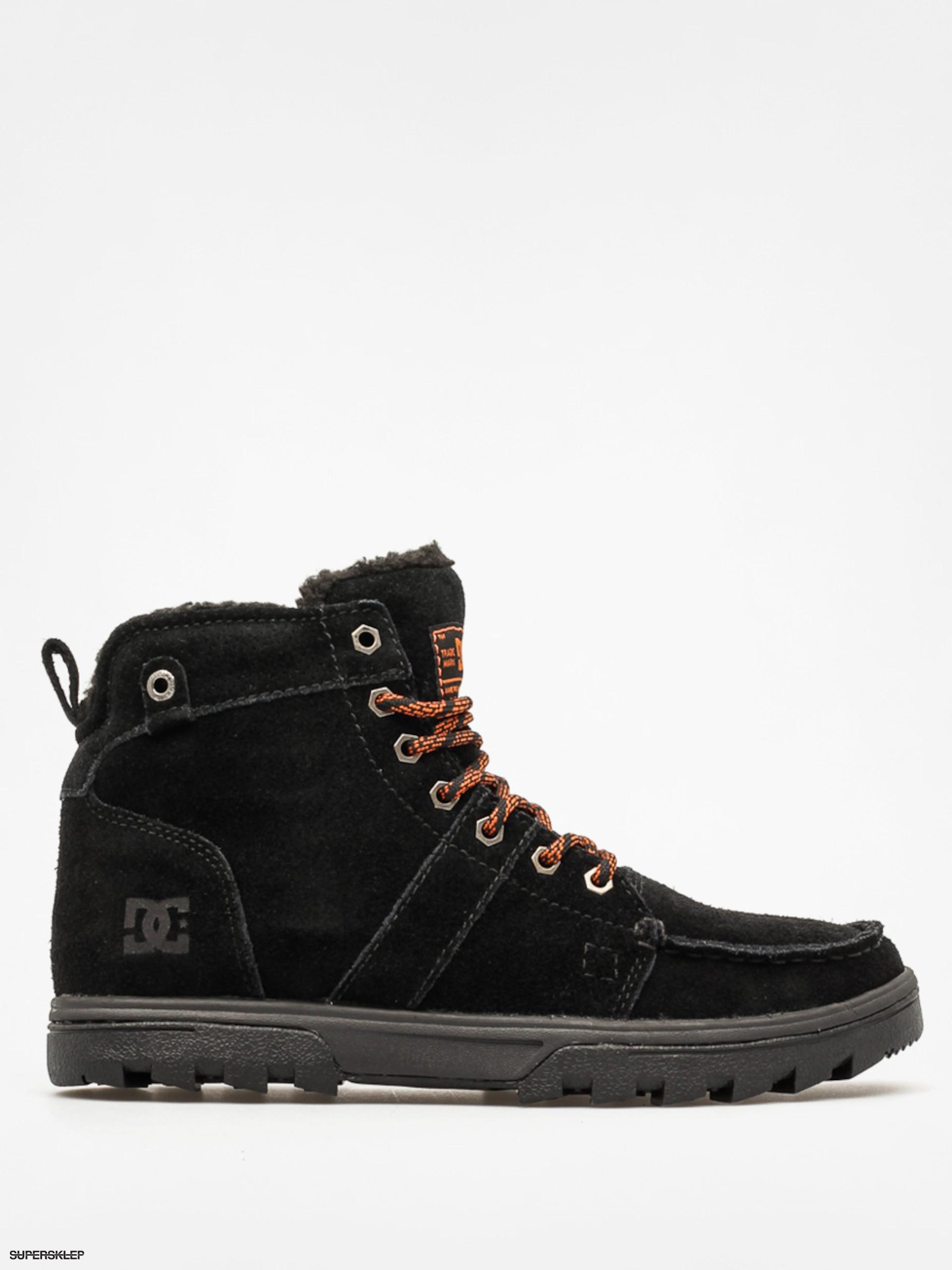 Zimní boty DC Woodland (black orange) 5a26b22ea6