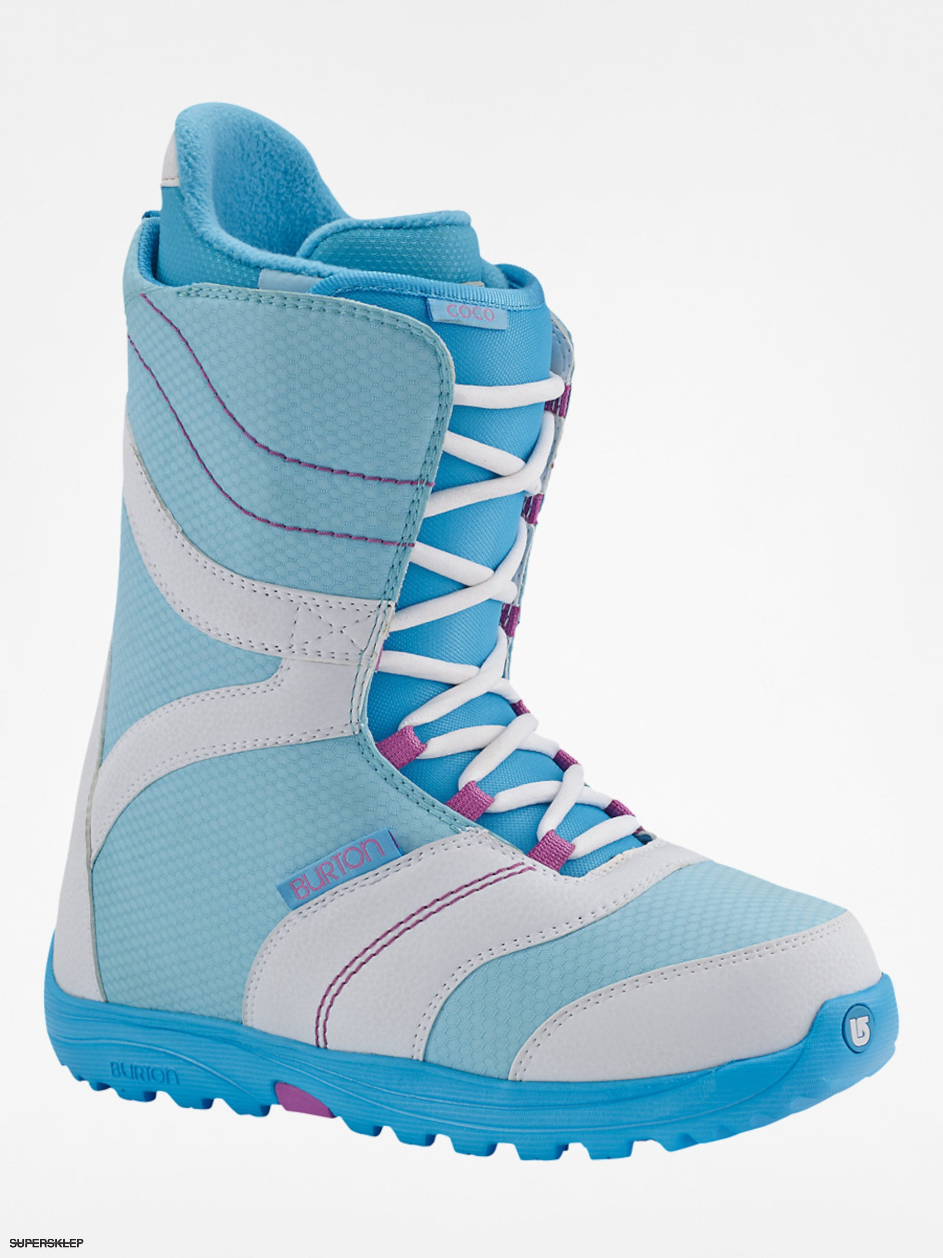 Boty na snowboard Burton Coco Wmn (white blue) d3619c98a48