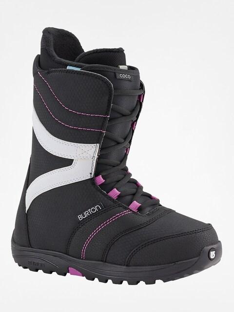 Boty na snowboard Burton Coco Wmn (black/purple)