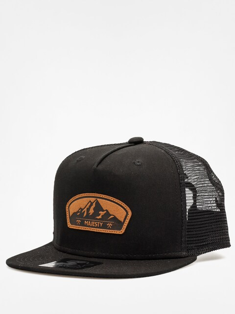 Kšiltovka  Majesty Starter Lumber Trucker ZD (black/brown)