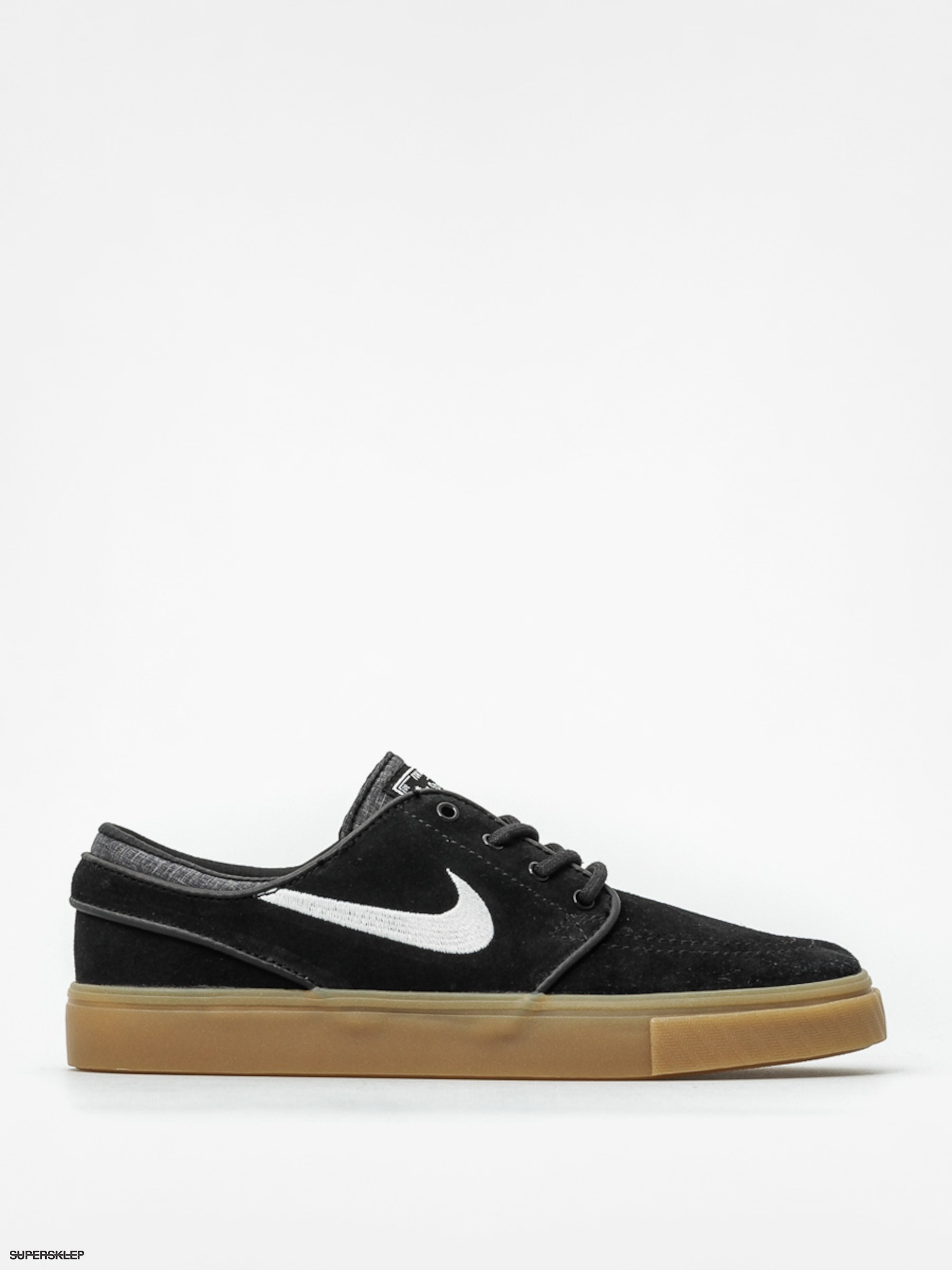 Boty Nike Zoom Stefan Janoski (black/white gum light brown)