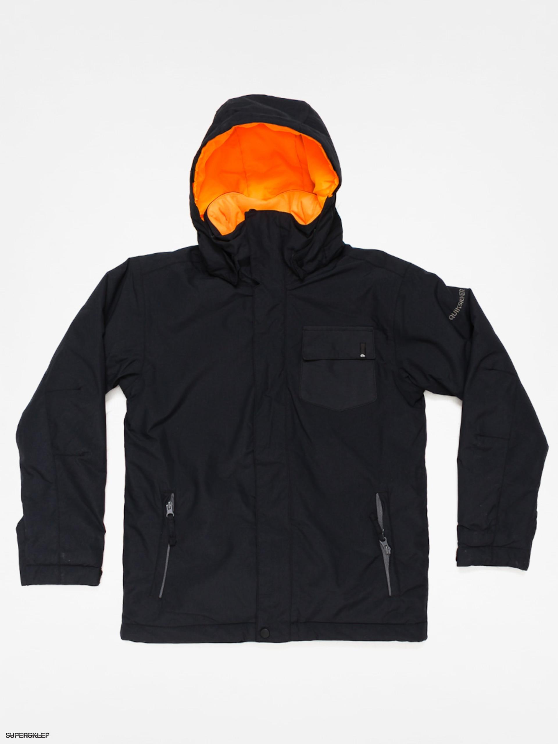 5661ad38301 Dětská snowboardová bunda Quiksilver Mission Plain (black)