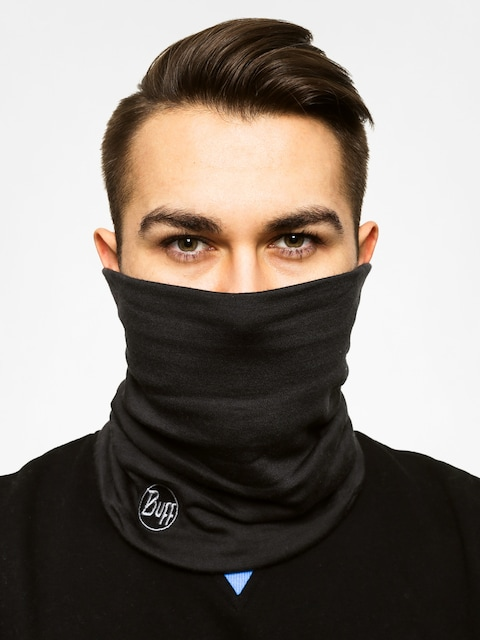 Buff Bandana Neckwarmer Wool (black)