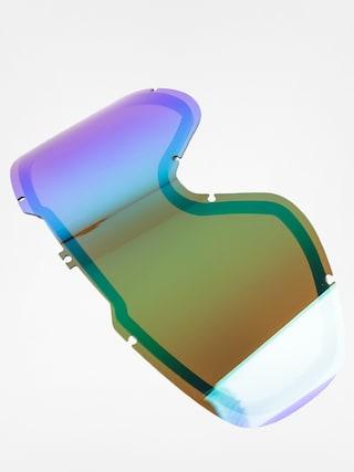 Sklo na snowboardové brýle Dragon DX2 RPL (green ion)
