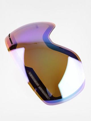 Sklo na snowboardové brýle Dragon X1S (green ion)