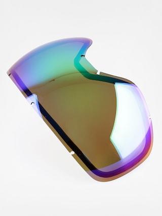 Sklo na snowboardové brýle Dragon D3 RPL (green ion)