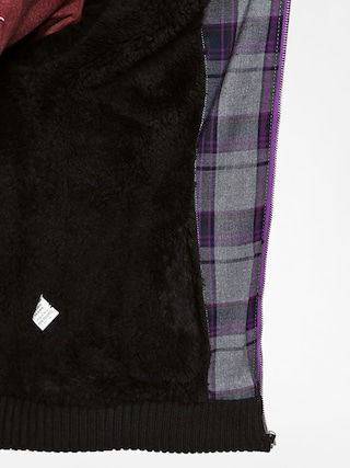 Malita Mikina s kapucí Pancho II ZHD (grey/violet)