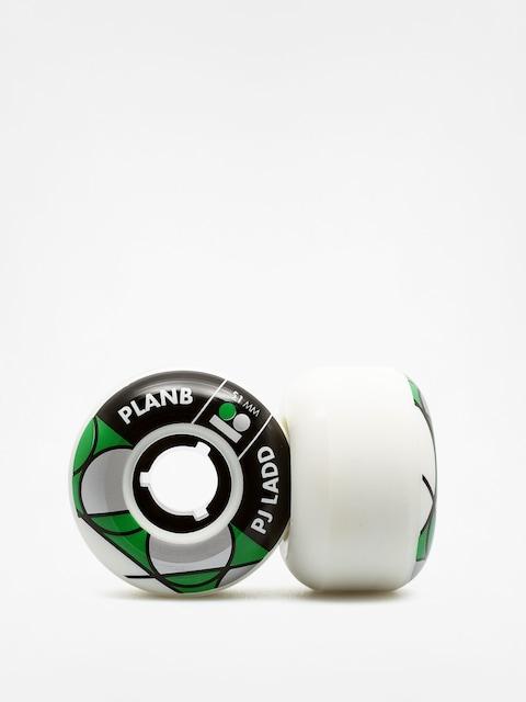 Plan B Kolečka PJ Ladd (black/green/white)