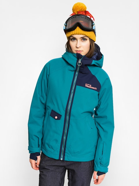 Westbeach Snowboardová bunda Kinsac Wmn (seaweed)