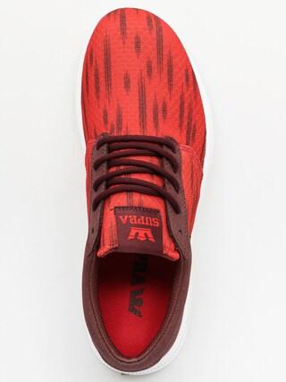 Supra Tenisky Hammer Run (red/burgundy white)