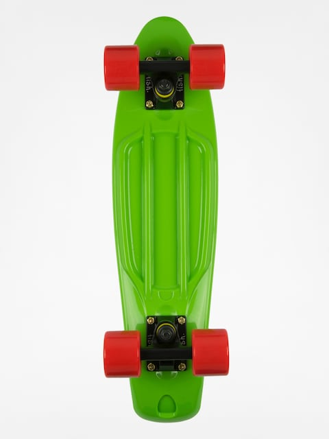 Fish Skateboards Cruiser 02 (green/black/red)